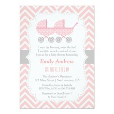 281 Best Twins Baby Shower Invitations Images In 2019 Baby Shower