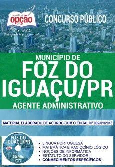 Apostila Preparatoria Concurso Prefeitura Do Municipio De Foz Do