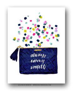 Confetti No. 2 | Art Prints by Evelyn Henson