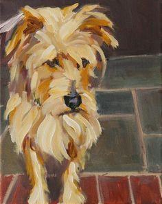 "Daily Paintworks - ""trapper"" - Original Fine Art for Sale - © Carol Carmichael Art Painting, Animal Art, Fine Art, Painting, Art, Animal Paintings, Dog Drawing, Art Wallpaper, Interesting Art"