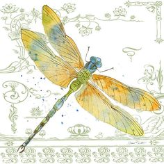 New print available on plout-gallery.artistwebsites.com! - 'Dragonfly Bliss-jp3447' by Jean Plout - http://plout-gallery.artistwebsites.com/featured/dragonfly-bliss-jp3447-jean-plout.html