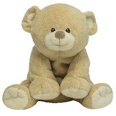 Pluffies 95271: Ty Pluffies - Woods The Bear (Soft Eyes Version) (8.5 Inch) - Mwmts Stuffed Toy -> BUY IT NOW ONLY: $71.15 on eBay!