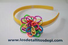 Diadema amarilla y colores