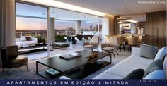 EVEN - Apartamentos novos à venda com alto padrão de qualidade, com 282 e 435 m²*. 1 unidade por andar, torre única, apenas 18 unidades. Unna é o breve lançamento da Even em Moema, na Rua Jurucê.