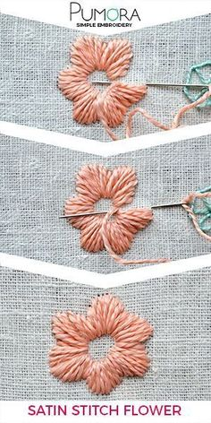 How to Stitch Hand Embroidery