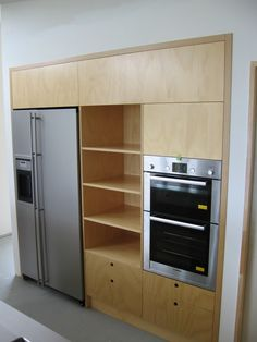 plywood kitchen | ... light maple melamine and granite top plywood kitchen plywood kitchen