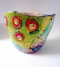 linda styles online sales of ceramic pots, bowls, jugs, beakers Ceramic Pots, Ceramic Clay, Ceramic Pottery, Pottery Art, Keramik Design, Hand Built Pottery, Paperclay, Pottery Bowls, Ceramic Artists