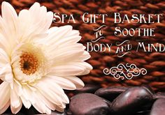 Spa gift baskets are popular gifts for women. They are filled with bath salt, bath gel, body lotion, aromatherapy candles, and other bath accessories. Some may include bath towel, slippers, potpourri drawer sachets, soft music CD, and chocolates.   #Homemade Gift Baskets #Spa