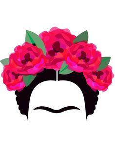 'Frida Kahlo Minimalist' Photographic Print by edleon Frida Kahlo Artwork, Frida Paintings, Frida Art, Redwood Tattoo, Fridah Kahlo, Mexican Art, Minimalist Art, Art Inspo, Pop Art