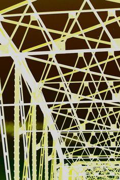 Bastrop bridge patterns. Graphic/photo by Joshi