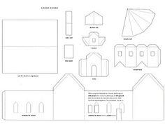 Dozens of little house templates