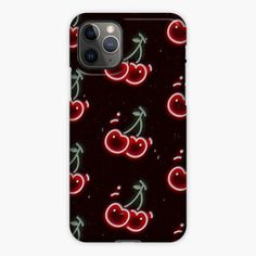 Wildflower Cherries Neon Red iPhone 11 Pro Case Vendor: NouvApparel Type: iPhone 11 Pro Case Price: Wildflower Cherries Neon Red iPhone Case Compatible for iPhone 11 Pro Cute Cases, Cute Phone Cases, Iphone Phone Cases, Best Iphone, Iphone 11 Pro Case, Wildflower Phone Cases, Rubber Material, Best Artist, New Zealand