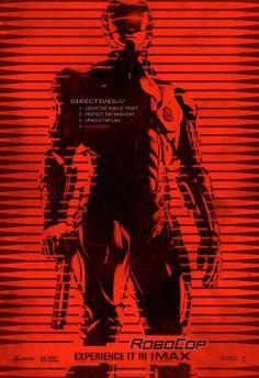 ROBOCOP (2014) IMAX Poster