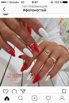 The new collection of 23 really unearthly beautiful manicure, which radiates class and style - Woman Red Acrylic Nails, Pink Nails, Pastel Nail, Cute Nails, Pretty Nails, Nagel Bling, Chrome Nails, Nagel Gel, Nail Art Hacks