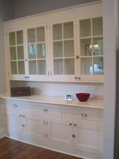 Butler's Pantry. Maybe for wall in dining room by Master bedroom with big island and open floor plan