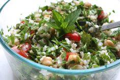 Mediterranean Rice Salad - For A Digestive Peace of Mind—Kate Scarlata RDN