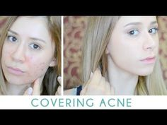 Great video on hiding any redness/blemishes with mineral powder and BB cream | Pin created by Hallie K.