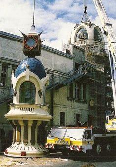 NANTES  la ville d'après guerre: NANTES la tour Lefevre-Utile