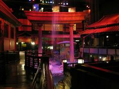 Benihana is one of our favorite special occasion restaurants in San Diego.  The one at The Las Vegas Hotel (formerly the Hilton in Las Vegas) is stunning!  It goes on the list...