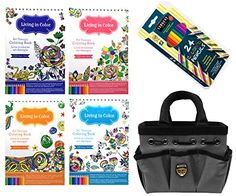 Art Therapy Kit Coloring Books for Adults with 24 Pencils... http://www.amazon.com/dp/B01EX9M22C/ref=cm_sw_r_pi_dp_Xplnxb0HT5N22