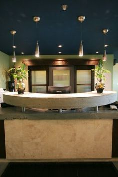 summit chiropractic interior design reception