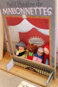 Finger puppet of Little Red Riding-Hood