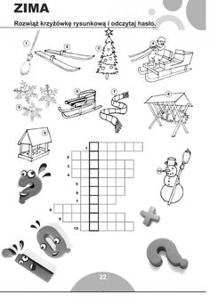 Crossword, Asd, Diy And Crafts, Diagram, Education, Children, Speech Language Therapy, Crafts For Kids, Crossword Puzzles