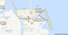 Map of Taipa, Macau
