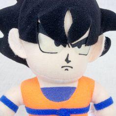 """Dragon Ball Z Son Gokou Plush Doll Figure 8"""" Banpresto JAPAN ANIME MANGA"""