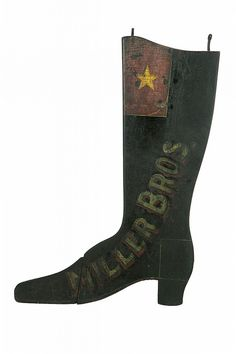 BOOT TRADE SIGN.