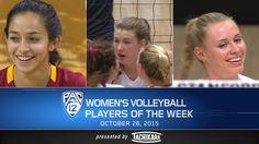 See some of the highlights from the Pac-12 Volleyball Players of the Week for Oct. 26, including Offensive Player of the Week Samantha Bricio (USC), Defensive Player of the Week Merete Lutz (Stanford) and Freshman of the Week Hayley Hodson (Stanford).