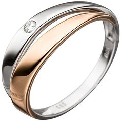 Dreambase Damen-Ring Weißgold mit Rotgold kombiniert 14 K... https://www.amazon.de/dp/B01GQWZ83O/?m=A37R2BYHN7XPNV