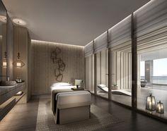 Massage Room, Spa Massage, Spa Interior, Interior Design, Spa Design, Design Case, Design Ideas, House Design, Spa Lounge