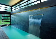 interior design indoor outdoor pool ideas binnen buiten zwembad interieur