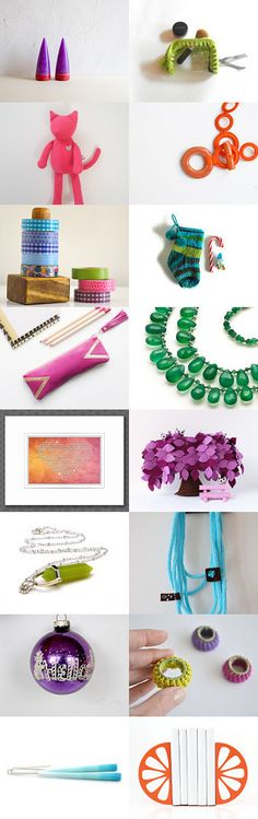 colorful Friday  by Yael Berger on Etsy--Pinned with TreasuryPin.com