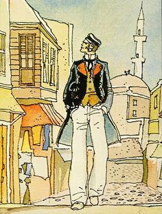 "corto maltese en ""la casa dorada de samarcanda"""