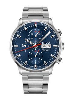 5010ab5e37a Mido Commander Chronograph Caliber 60 Relogio Mido
