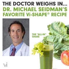 "#doctorsorders Dr. Michael Seidman's Favorite Vi-Shape Recipe: The ""All-In"" Shake | ViSalus BlogViSalus Blog"