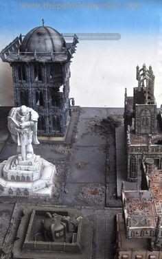 Forge World Realm of Battle Cityscape 6 x 4 board