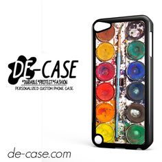 Messywatercolorset DEAL-7069 Apple Phonecase Cover For Ipod Touch 5