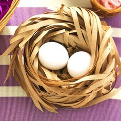 Recycled Easter Nest