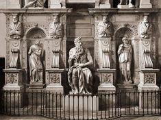 Moisés de Miguel Ángel, Iglesia de San Pietro in Vincoli, Roma