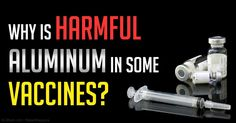 According to some experts, including Dr. Humphries, aluminum in vaccines may pose very significant health risks. http://articles.mercola.com/sites/articles/archive/2015/03/31/aluminum-vaccines.aspx