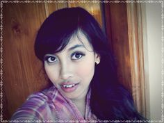 this make up made by my best friend.. Thank you Sylviana Setiawan..