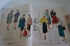 VTG Oct 1947 SIMPLICITY STORE COUNTER PRINTED SEWING PATTERNS BOOK CATALOG | eBay