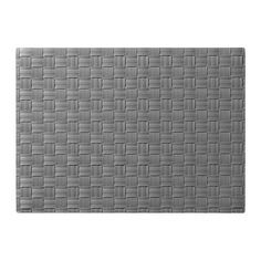 Ikea place mat - Gray is a great base color to start with for dining - it makes the color from the food pop.