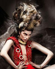 Avant Garde Hairdresser 2012 finalist Anne Veck 05