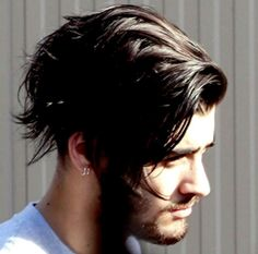 Zayn - 2/6/15...I, I am just speechless. His hair needs its own fandom.......that's how amazing it is