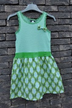 leuk kleedje! topje h, rokje aangezet Sewing For Kids, Sewing Clothes, Refashion, My Girl, Vintage Dresses, Kids Outfits, Kids Fashion, Summer Dresses, Cassie