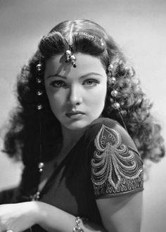 Hedy Lamarr - Hedwig Eva Maria Kiesler - 1914/2000 - Actrice Américaine - Extase/Le démon de la chair/Samson et Dalila